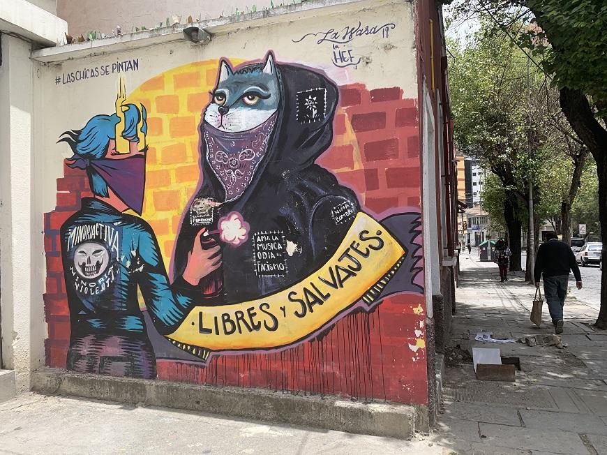 Veus, narratives i pràctiques per una vida lliure de violència a Bolívia